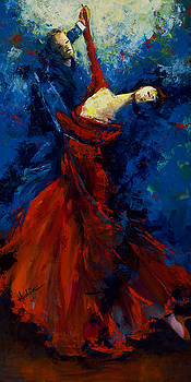 Flamenco Dancers by Mary DuCharme