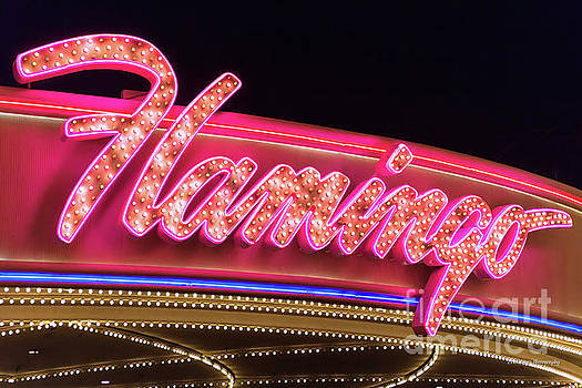 Flamingo Neon Sign From the West by Aloha Art