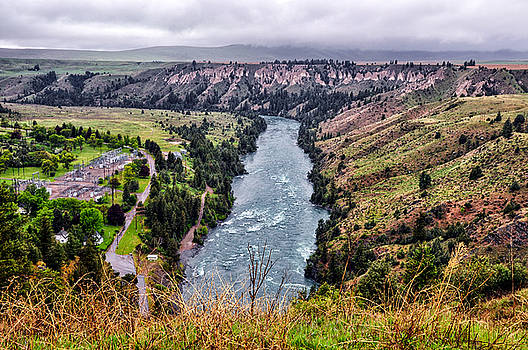 Flathead River - Polson - Montana by Bruce Friedman
