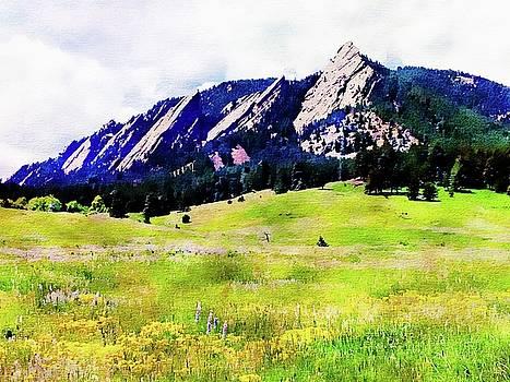 Flatirons - Boulder, Colorado by Joseph Hendrix