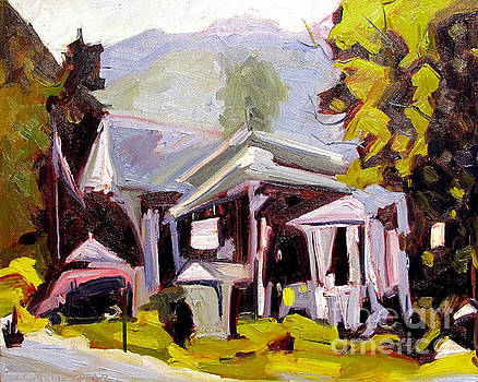 Flea Market in the Poconos by Charlie Spear