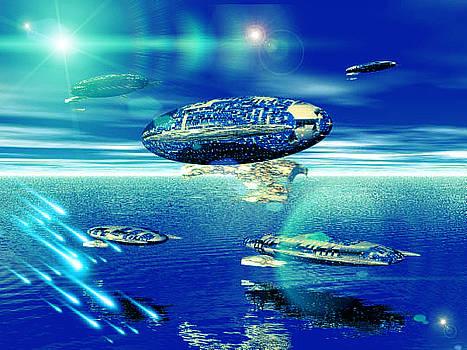 Fleet Aqua by Jacqueline Lloyd