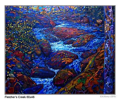 Fletcher's Creek  by C A Henry