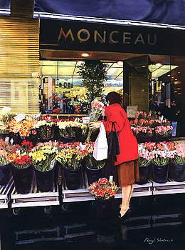 Fleurs Monceau by Cheryl Wooten