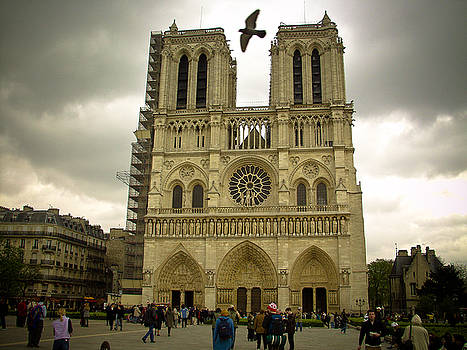 Flight Over Notre Dame by Mark Currier