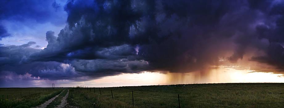 Eric Benjamin - Flint Hills Storm Panorama