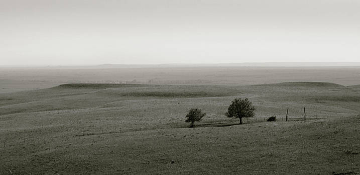 Flint Hills Vistas by Thomas Bomstad