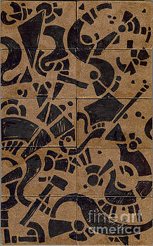 Flipside 1 Panel E by Joseph A Langley