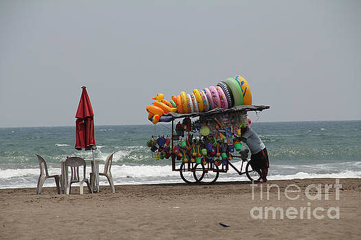 Floaties Veracruz Mexico by Linda Queally
