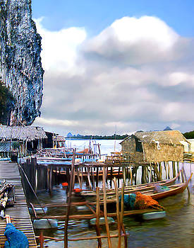 Kurt Van Wagner - Floating Village Thailand