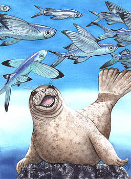 Flock of Fish by Catherine G McElroy