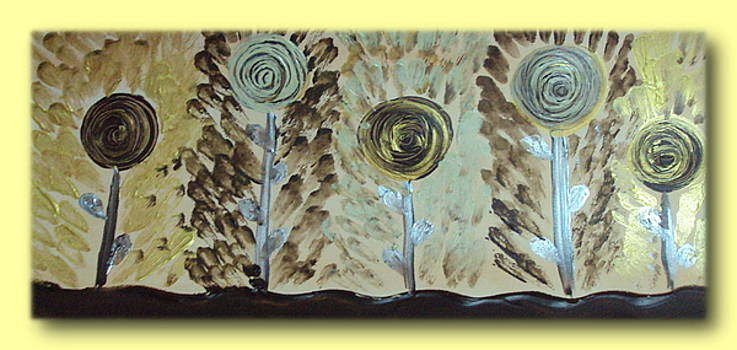 Floral Abstract 4 by Manali Thakkar