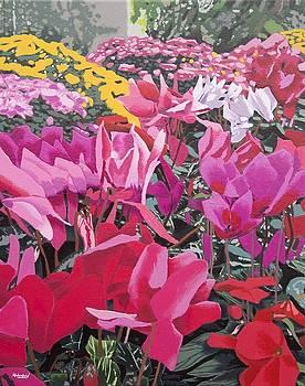 Floral Bloom by Malcolm Warrilow