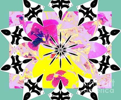 Floral Color Wheel by Shirley Moravec
