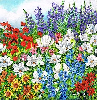 Floral Fusion by Val Stokes