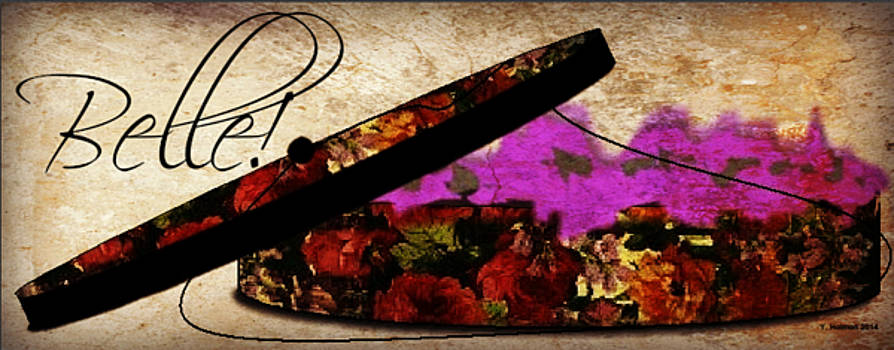 Floral Hat Box - Contact Artist to License Image by Yoli Fae