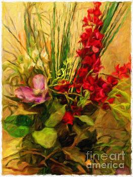 Floral Study #1  by Putterhug  Studio