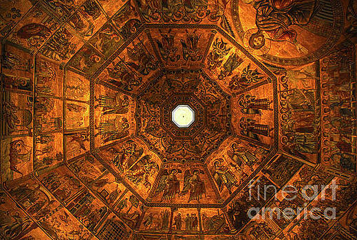 Florence Italy Baptistry Mosiac by Gregory Dyer