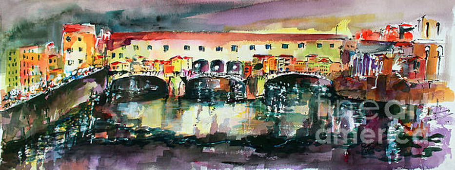 Ginette Callaway - Florence Italy Ponte Vecchio