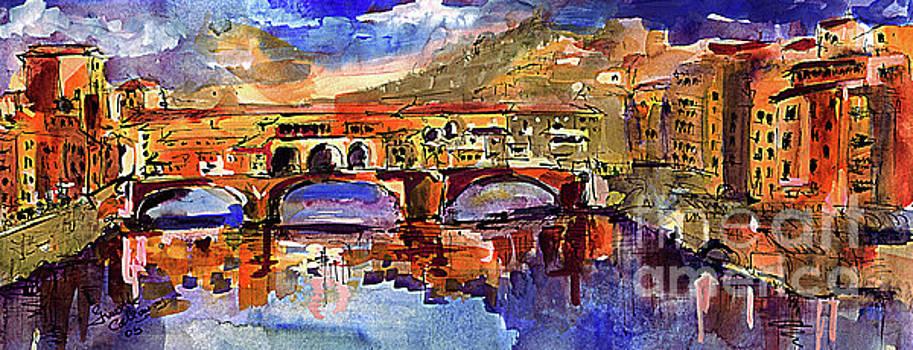 Ginette Callaway - Florence Ponte Vecchio Merchant Bridge