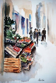 Florence Street Market by Neva Rossi