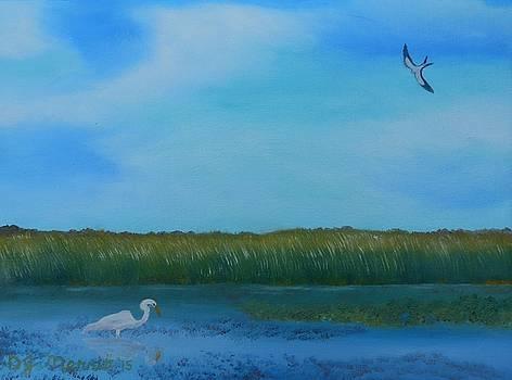 Florida Everglades Egret by Dorothy Merritt