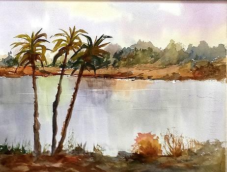 Florida Landscape by Larry Hamilton