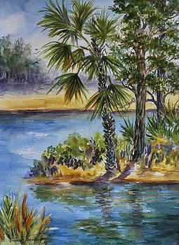 Florida Pine Inlet by Roxanne Tobaison