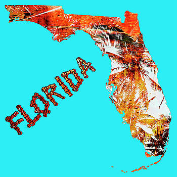 Florida Map by Skip Nall