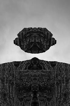 David Gordon - Floating Head I BW