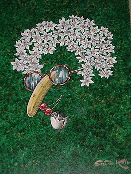 Flower Child  by Eric de Kolb