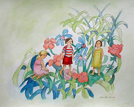 Flower Children by Bruce Zboray