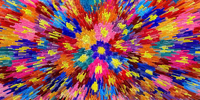 Flower Explosion by LeeAnn McLaneGoetz McLaneGoetzStudioLLCcom