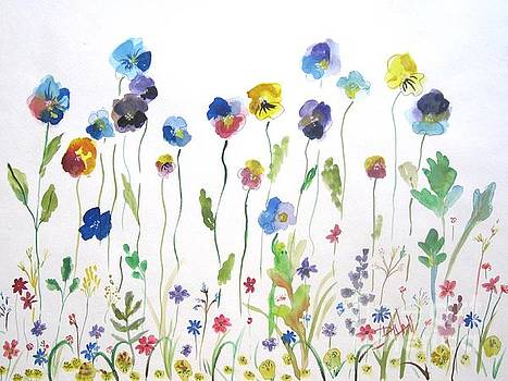 Flower Garden by Delilah  Smith