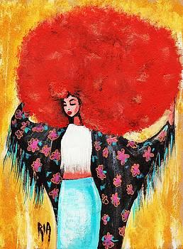 Flower Girl by RiA RiA
