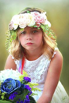 Flower Girl by Tom Schmidt