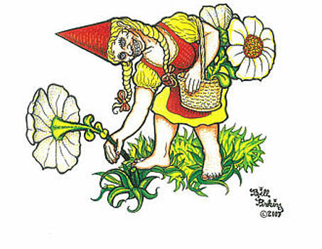 Flower Gnome by Bill Perkins