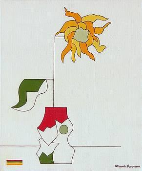 Flower ii by Hildegarde Handsaeme