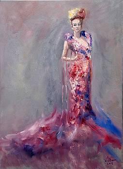 Flower Lady by Nancy Van den Boom