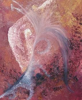 Flower Mystery Mask by Linda Ferreira