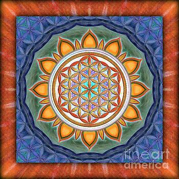 Flower Of Live - Kaleidoscope 1 by Dirk Czarnota