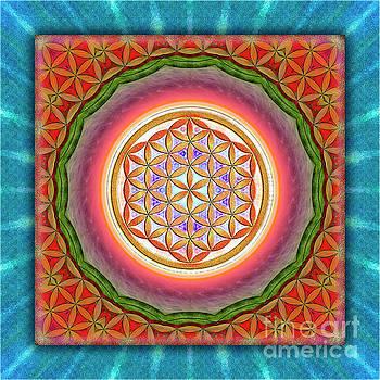 Flower Of Live - Kaleidoscope 2 by Dirk Czarnota