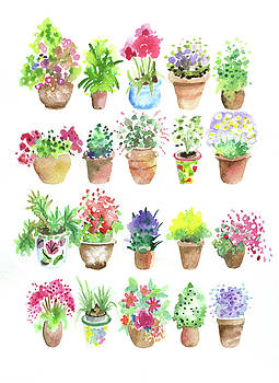 Flower Pot Heaven by Lydia Irving