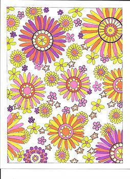 Flower Power 1 by Roberta Dunn