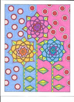 Flower Power 2 by Roberta Dunn