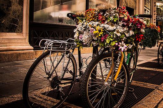 Flower Power - Manhattan Style by Larry Goss
