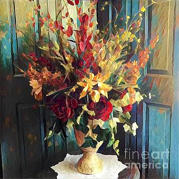 Flower Vase by Diana Chason