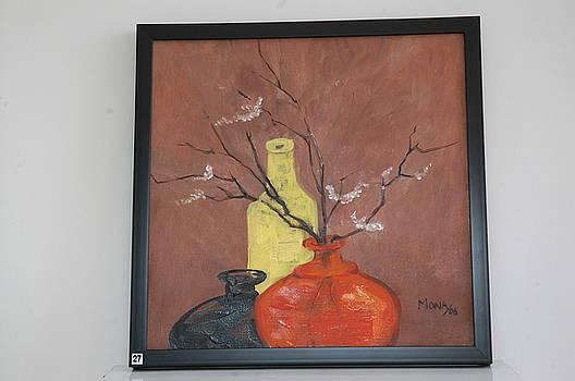 Flower Vase by Mona Bhavsar