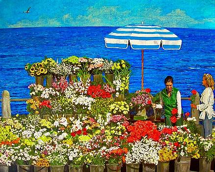 Michael Durst - Flower Vendor in Sea Point