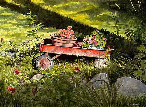 Flower Wagon by Tom Hedderich